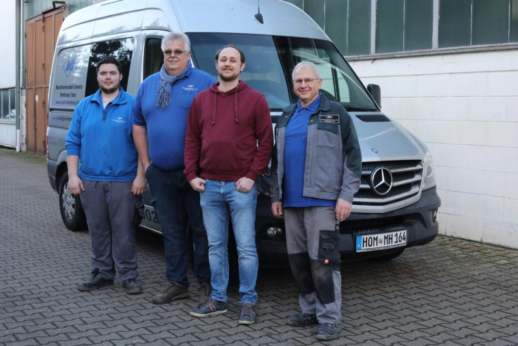 Ein starkes Team - MSH Maschinenhandel & Service